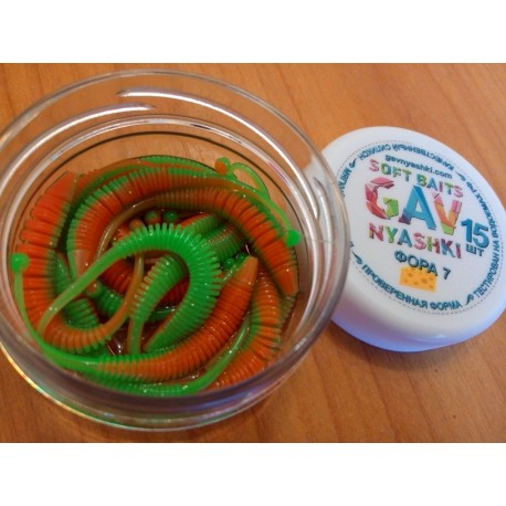 Nyaski.Club -ФОРА 7 - ярко зеленая с красным пузом