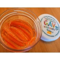 GAVnyashki -ФОРА 7 - оранжевая с прозрачным пузом и блестками
