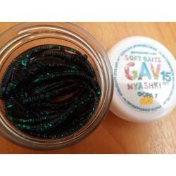 GAVnyashki -ФОРА 7 - черный с зелеными блестками